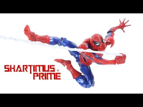 Revoltech Spider-Man 2016 Amazing Yamaguchi Marvel Comics Import Action Figure Toy Review