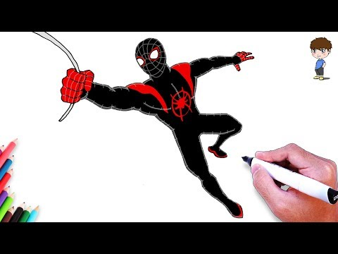 Access youtube - Dessiner spiderman facile ...