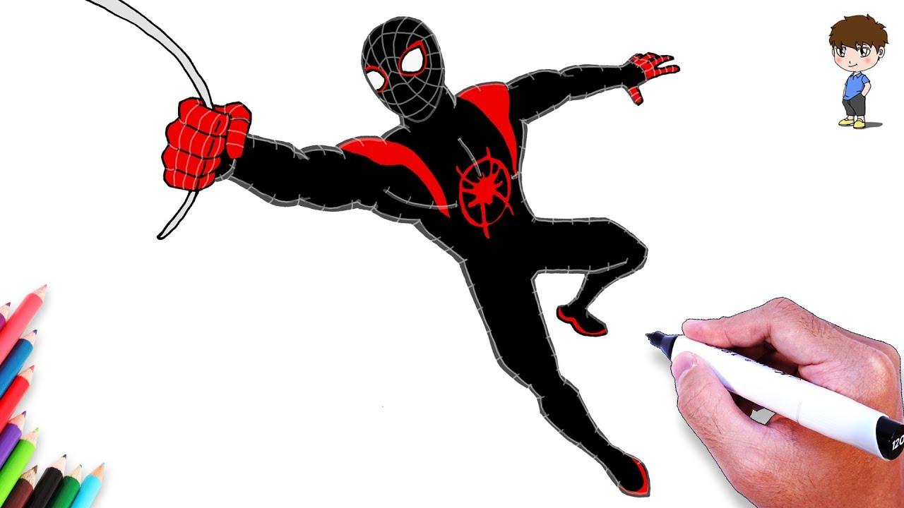 Comment Dessiner Spiderman Dessin De Spiderman Facile A Faire