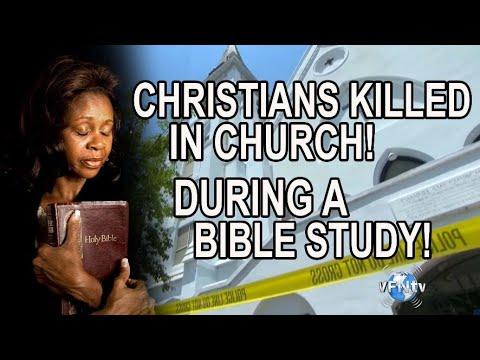 Christians Kill in Church, during Bible Study South Carolina - Tragedy!!   II VFNtv II