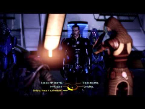 Mass Effect 2 - Shepard and Tali helping quarian (Lia'Vael)