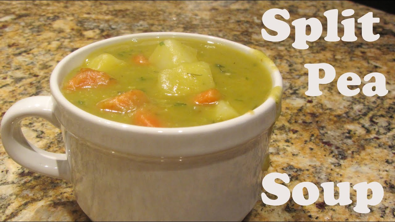 Easy homemade split pea soup recipes