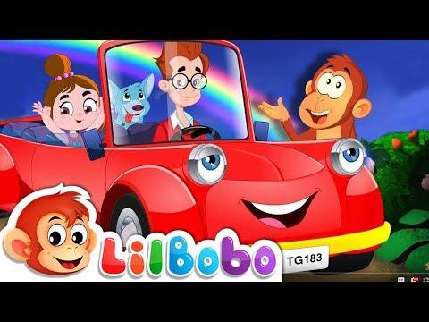 Driving in My Car | Little BoBo Nursery Rhymes and Kids Songs | FlickBox