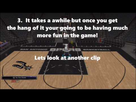 How To Do Put-back Dunks In NBA 2k14/15 UPDATED Read Description