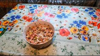 """Как приготовить вкуснейший салат """"обжорка"""" ? Простой и очень вкусный рецепт приготовления"""
