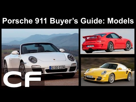 ✪ Which 911 should you buy?  Models Explained - Porsche Buyer's Guide Part 2 ✪