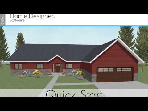 Home Designer Quick Start 2018