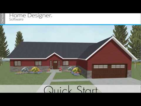 Home Designer Quick Start 2018