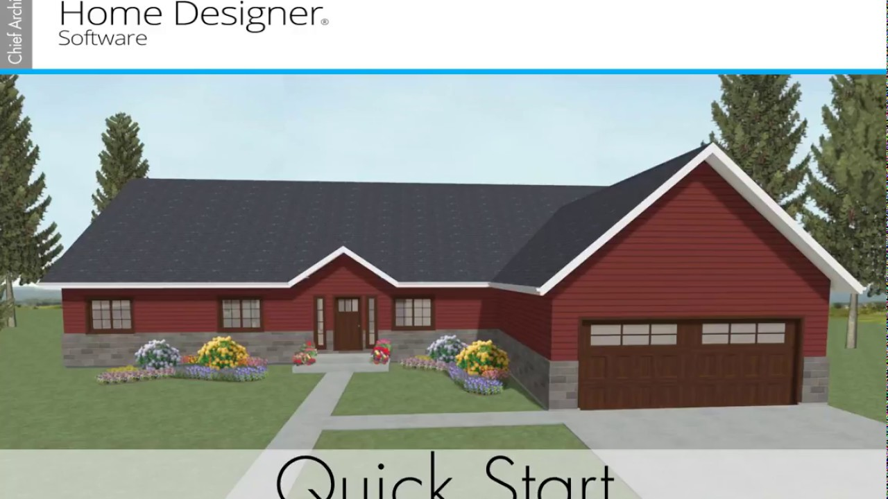 home designer quick start 2018 - Home Designer