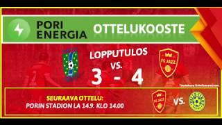 Pori Energia ottelukooste: TamU - FC Jazz 1.9.2019