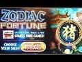 Zodiac Fortune Slot Bonus - 100x+ Free Spins Big Win