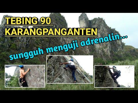Wisata Esktrem Menikmati Bandung Dengan Hammocking Di Puncak Tebing Padalarang Net24 Youtube