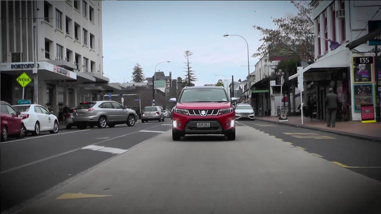 NZ Company Vehicle Video road report - 2016 Suzuki Vitara 2WD