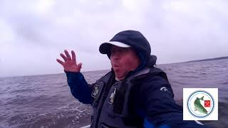 Международный турнир глухих рыбаков в Латвии. Озеро Буртниеку