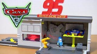 カーズ3 クロスロード マテル ラスティーズ・クイック・チェンジ・ガレージ プレイセットを開封紹介⭐️Disney Pixar Cars3 Kids Toy thumbnail