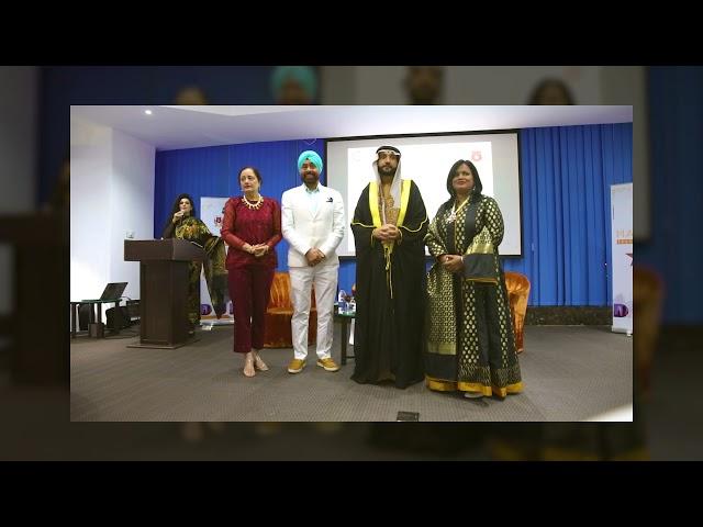 Chaitali Das Felicitation in Dubai