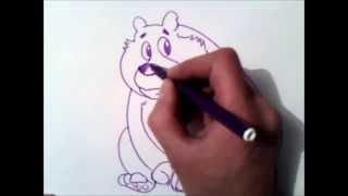 как рисовать медведя(Подписаться здесь: http://goo.gl/o963dE как рисовать медведя., 2015-10-15T20:18:54.000Z)