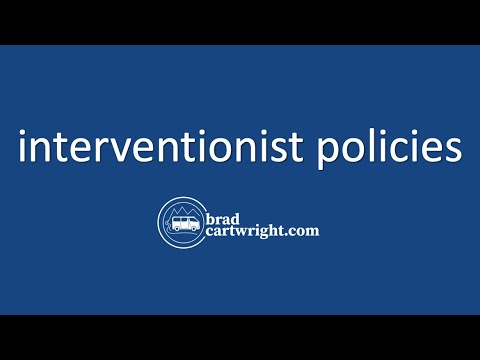 Supply-Side Policies Series:  Interventionist Policies