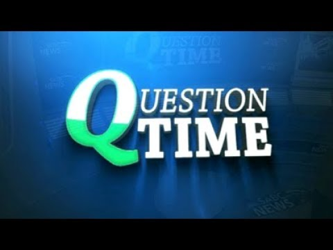 Question Time: Mangope, 25 January 2018