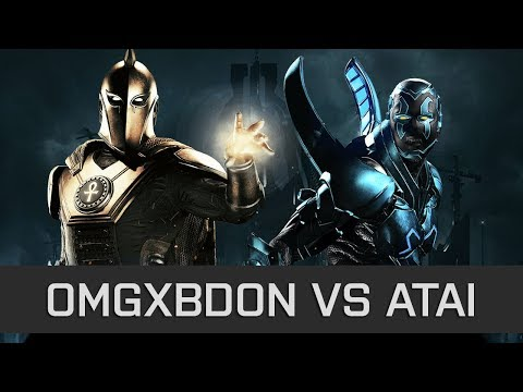 Injustice 2 - High Level FT10 - Bdon (Dr Fate) vs Atai (Blue Beetle)