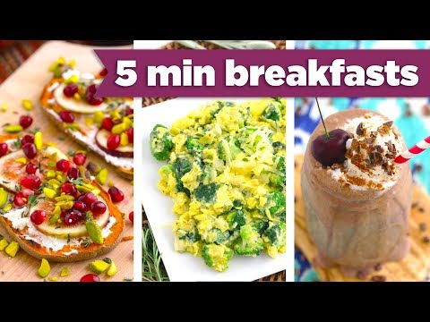 5 Minute Breakfasts for Winter! Easy Healthy Recipes! Mind Over Munch