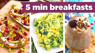 5 Minute Breakfasts for Winter! Easy Healthy Recipes!  - Mind Over Munch