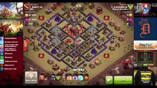 Clash of Clans - House Kuyalix Wins War #185 against SSC, Hollywood Shono still OCD's noobs with bas