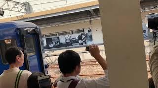 C6120 SLぐんまみなかみ号 ばんえつ物語 蒸気機関車 高崎駅にて  客車連結の瞬間 steam locomotive