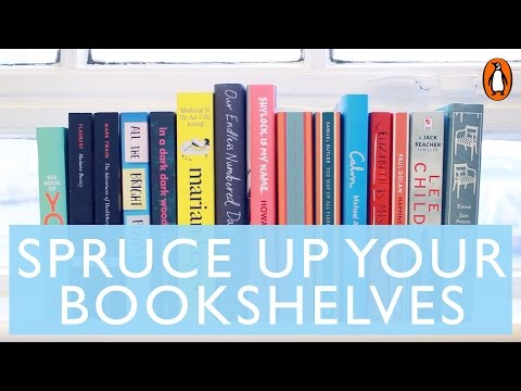 Spruce Up Your Bookshelves with Marie Kondo