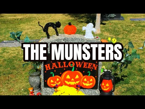 Famous Graves - THE MUNSTERS - Visiting & Remembering The TV Show Cast & Creators