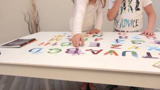 Wall Decoration   Letters And Numbers