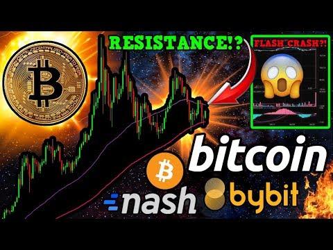 Bitcoin Fights to BREAK Resistance! Exchange HAVOC Due to AWS Error: $0.33 ETH $1 BTC!?