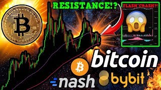 Bitcoin Fights to BREAK Resistance! Exchange HAVOC Due to AWS Error: $0.33 ETH $1 BTC!?