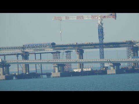 Фотографии керченского моста  большим зумом.Nikon Coolpix P900