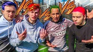 FUßBALL CHALLENGE + EXTREME HAARE FÄRBEN BESTRAFUNG !!