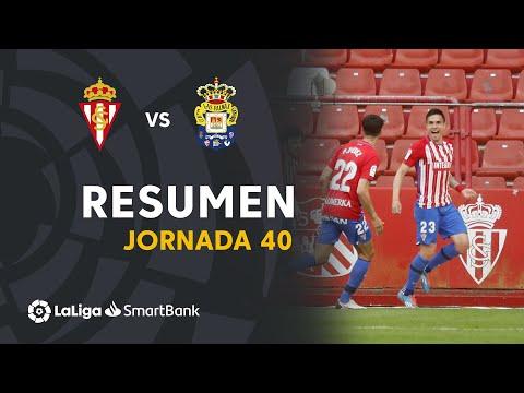 Gijon Las Palmas Goals And Highlights