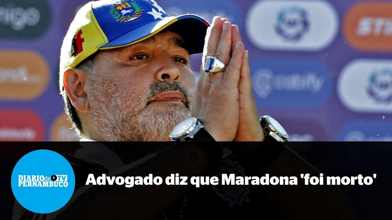 Advogado de enfermeira afirma que Maradona 'foi morto'