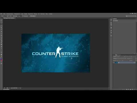 Как убрать текст с картинки или фотографии с помощью Photoshop Cs6