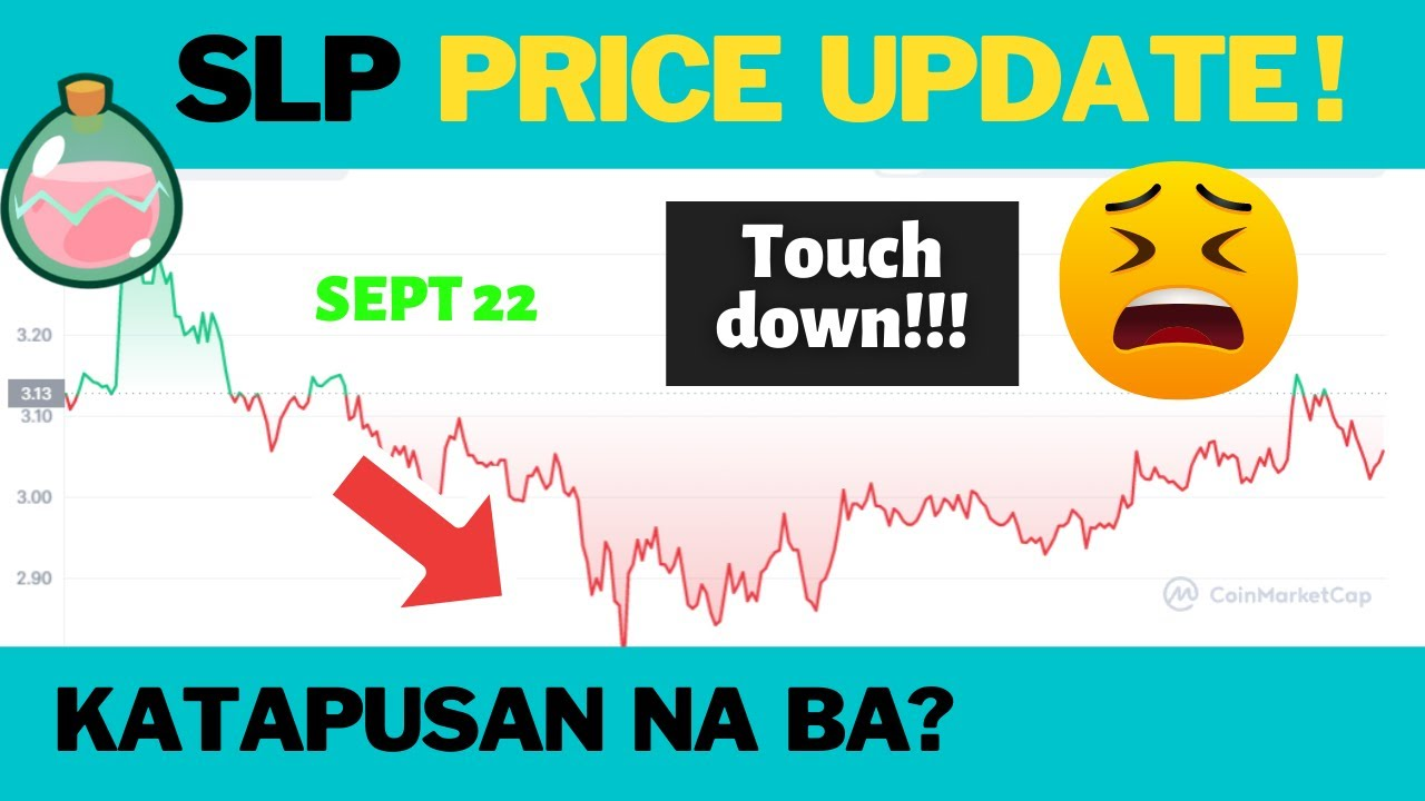 Download TOUCH DOWN!! SLP & AXS Price Update Today (Sept 22) Magkano na ang FLOOR AXIES ngayon?