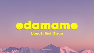 Download bbno$ ‒ edamame ft. Rich Brian (Lyrics)