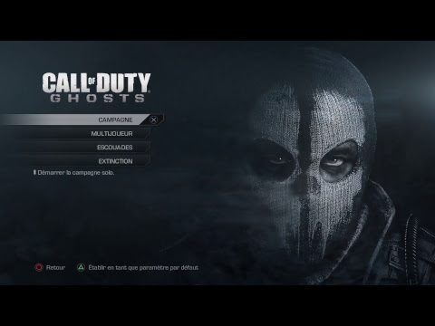 [Live] [Call of duty Ghosts] Let's play part1