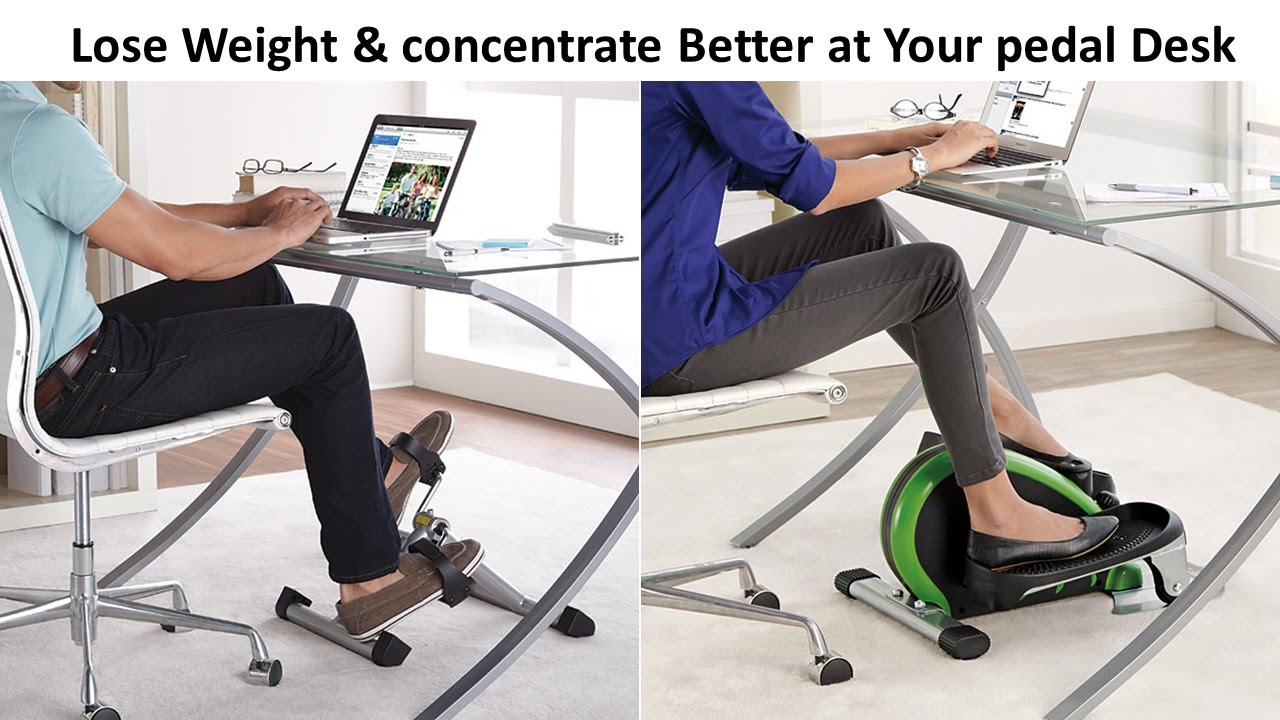 lose weight concentrate better at your desk cycle youtube