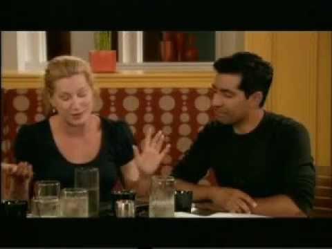 Kathryn Hahn, Ravi Kapoor & Steve Valentine on Crossing Jordan 2008