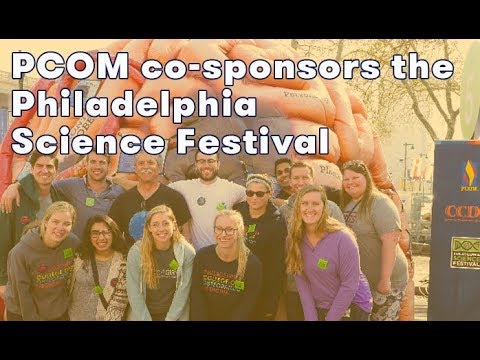 PCOM Co-Sponsors the 2018 Philadelphia Science Festival