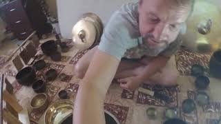 Поющие чаши. Тибетские чаши. Медитация. Звукотерапия. Обучение. Выбор набор поющих чаш. Singing Bowl