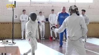 видео соревнования по фехтованию