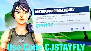 🔴HOSTING DUO CUSTOM MATCHMAKING SCRIMS | FOLLOW RULES | [ Code ''otgcj '' ] | Fortnite Live #Evade