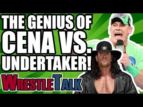 The Genius Of The Undertaker And John Cena At WWE WrestleMania 34! | WrestleTalk Opinion