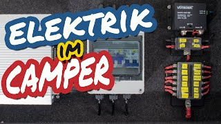 Elektrik im Camper - Sprinter Van Conversion