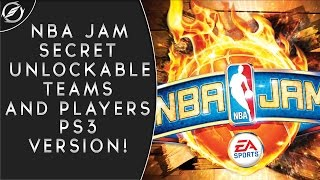 How To Unlock Every Secret NBA Jam Teams & Characters (PS3)
